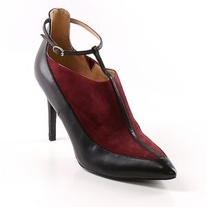 Banana Republic | Leather Upper Burgundy Heel | 6